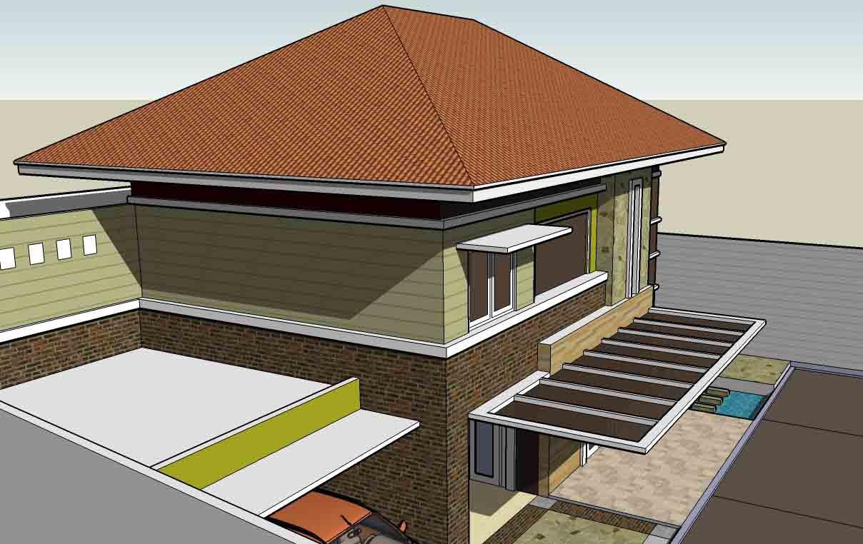 taman minimalis natural rumah kumpulan rumah ukuran desain denah
