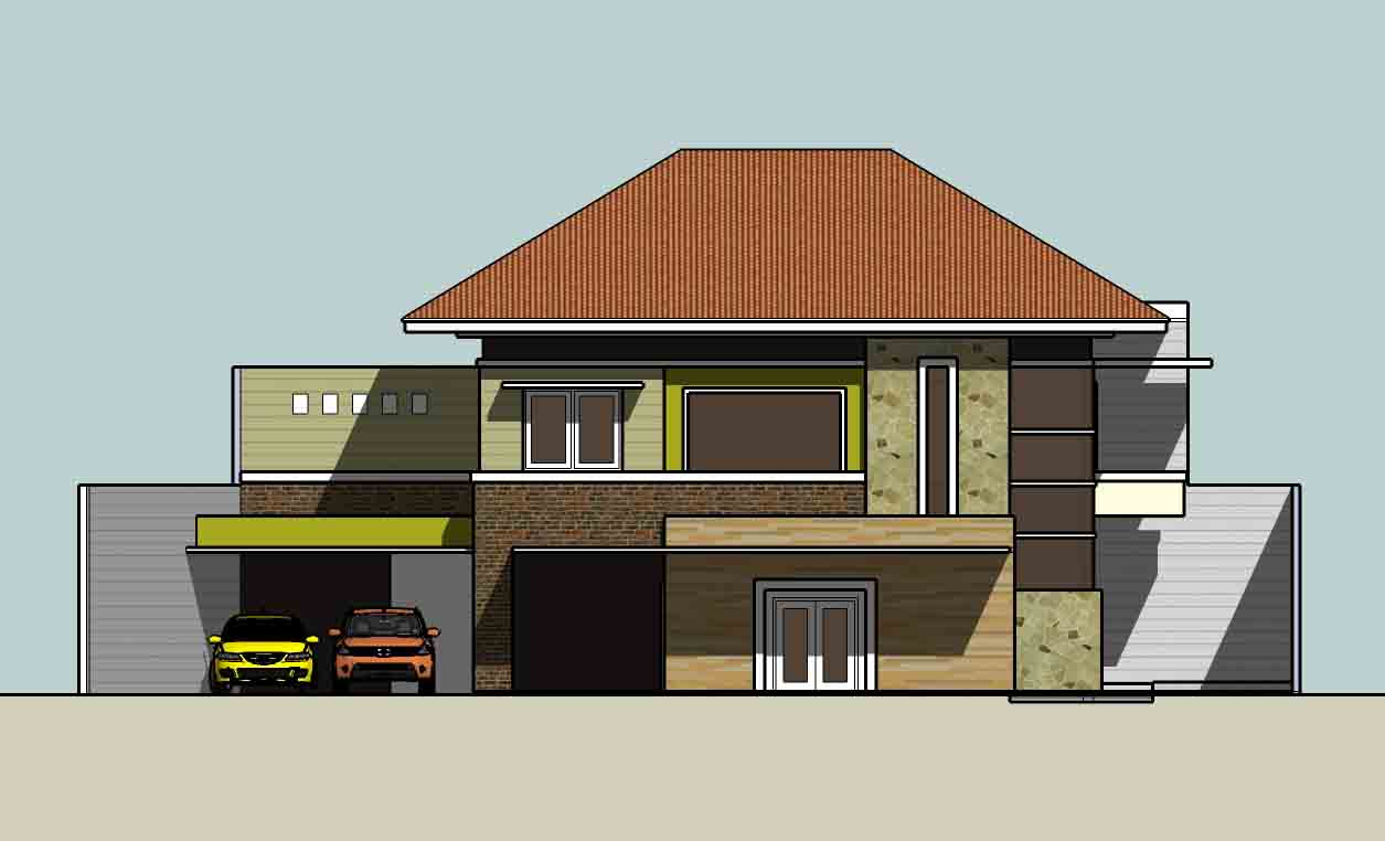 tampak depan rumah desain 2 kopel motorcycle review and