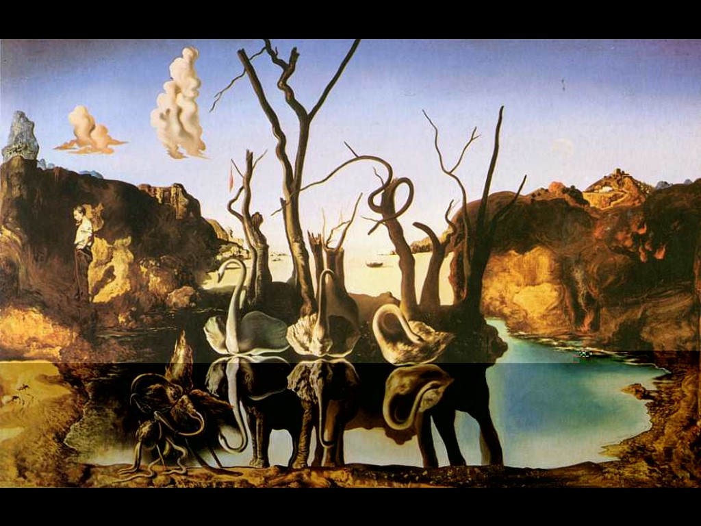 http://abhinarfatah.files.wordpress.com/2009/11/dali-swans-reflecting-elephants.jpg